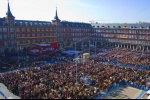 A Public Event in Plaza Mayor Madrid